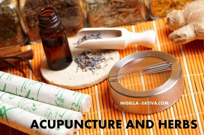 Acupuncture and herbs Picture